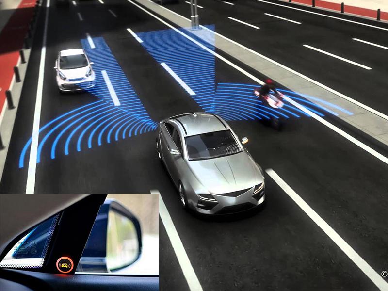 Hệ thống cảnh báo điểm mù sử dụng Radar hoạt động vượt trội so với các sản phẩm thông thường