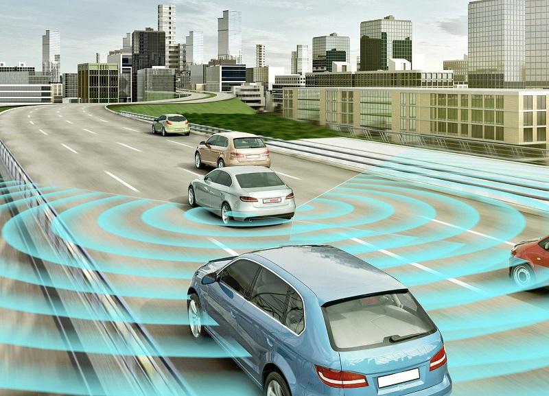 Hệ thống cảnh báo điểm mù BSM-01M sử dụng Radar tần số 24Ghz quét liên tục phạm vi điểm mù