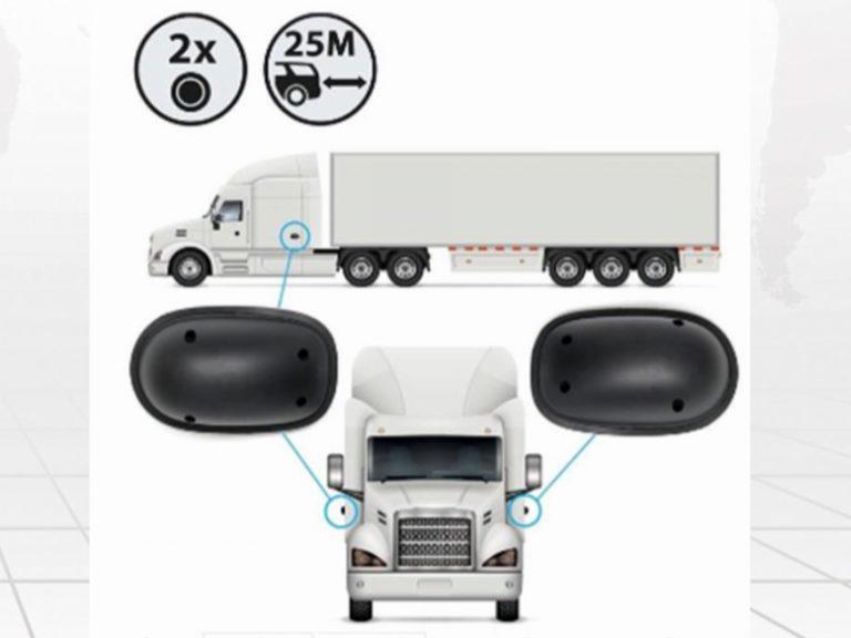 Hệ thống cảnh báo điểm mù BSM-01T (xe bus, tải)