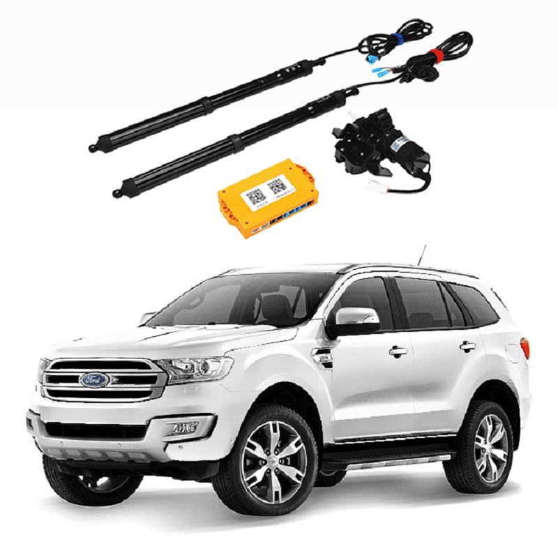 """Ford Everest cũng """"lên đồ"""" với bộ mở cốp thông minh"""