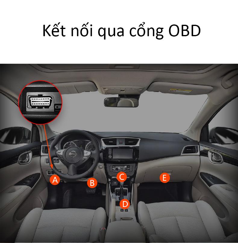 Kết nối qua cổng OBD