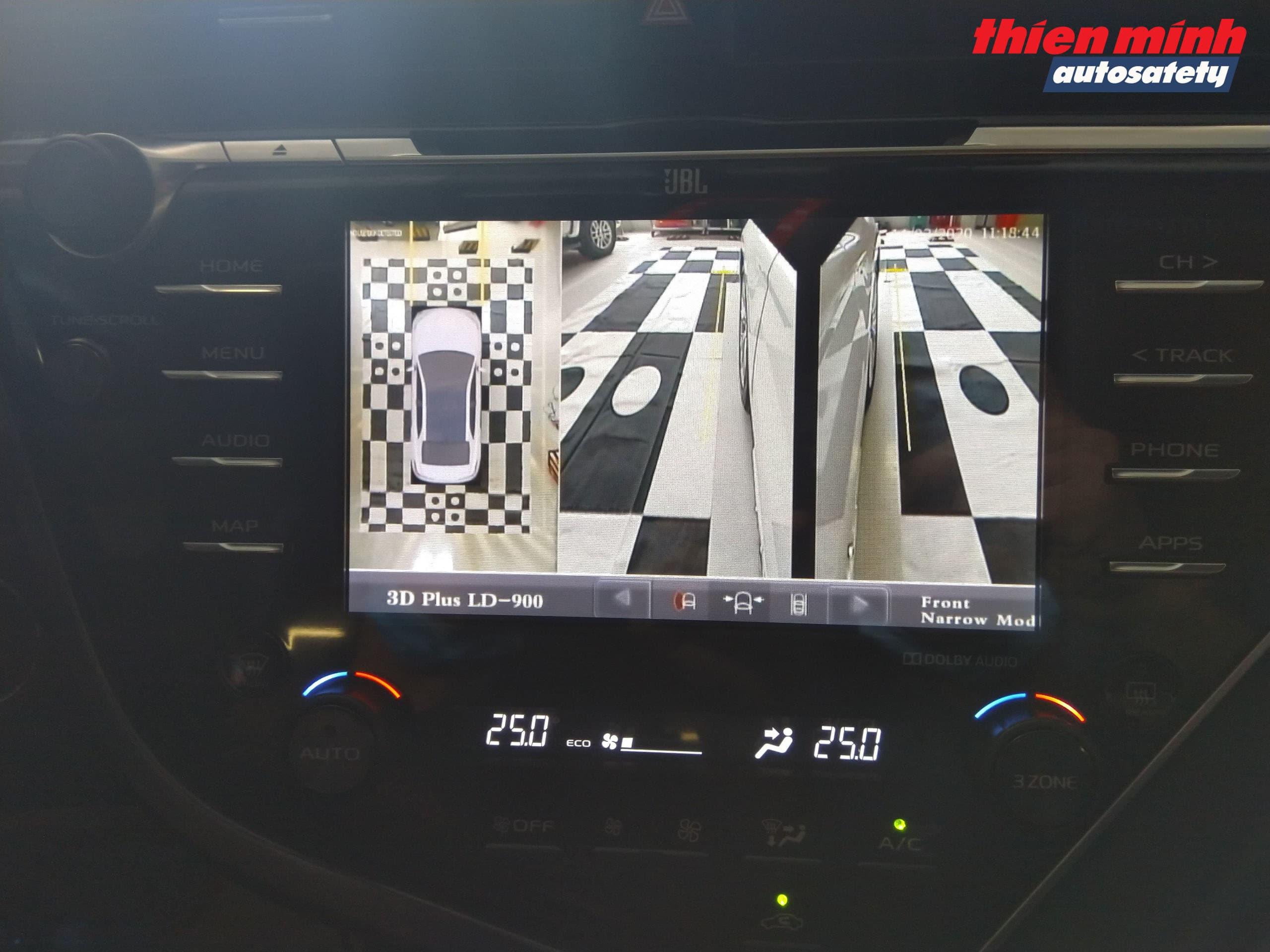Góc hình Camera 2 bên trái - phải