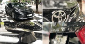 Các vị trí mắt Camera trên xe