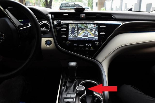 Núm xoay điều khiển kết nối công nghệ không dây Bluetooth dễ dàng sử dụng