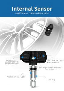 Hệ thống áp suất lốp (TPMS)