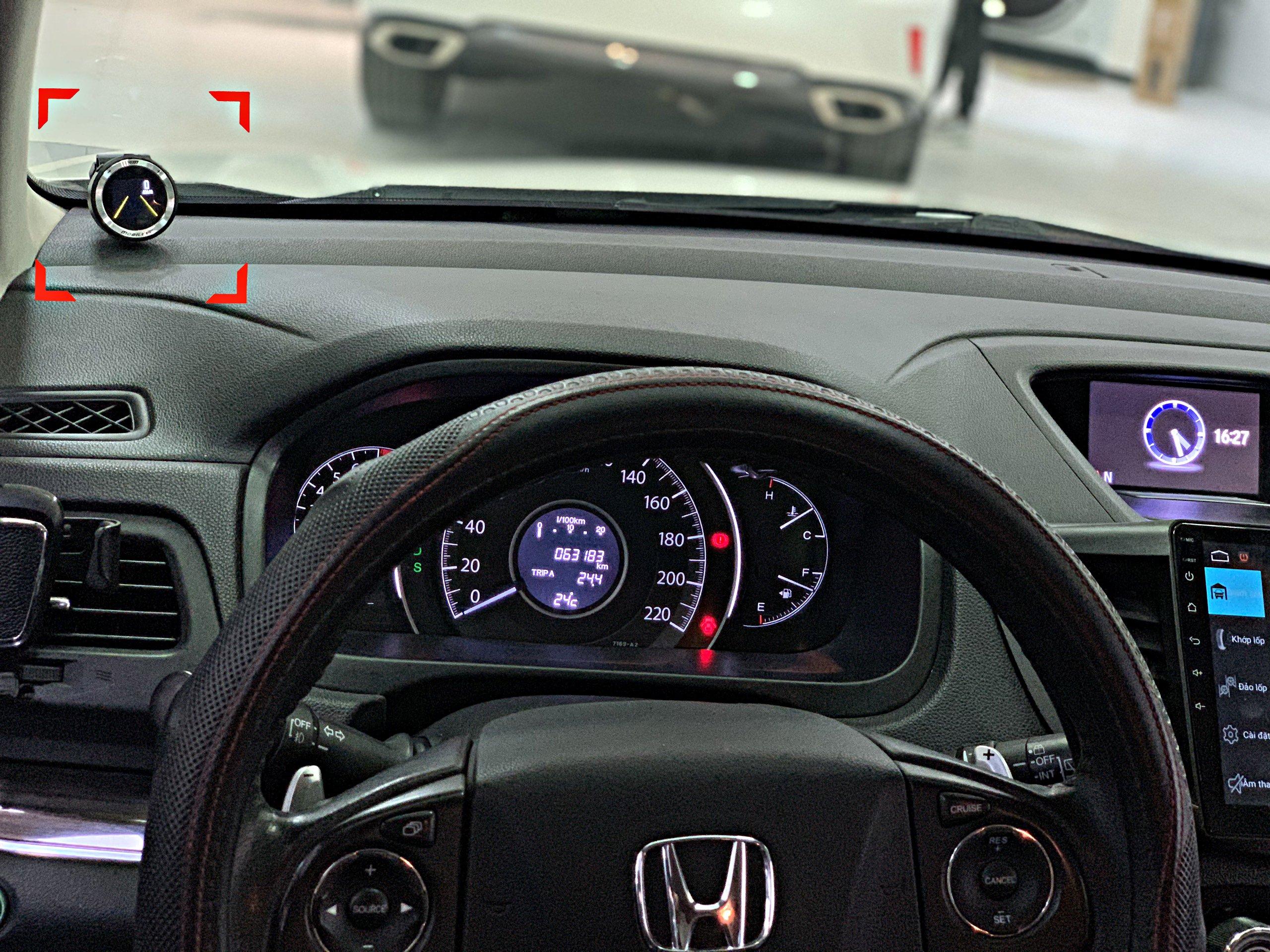 cảnh báo va chạm xe Honda CRV