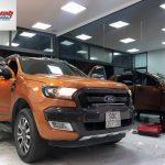Điểm mù trên xe ô tô Ford Ranger và cách khắc phục hiệu quả