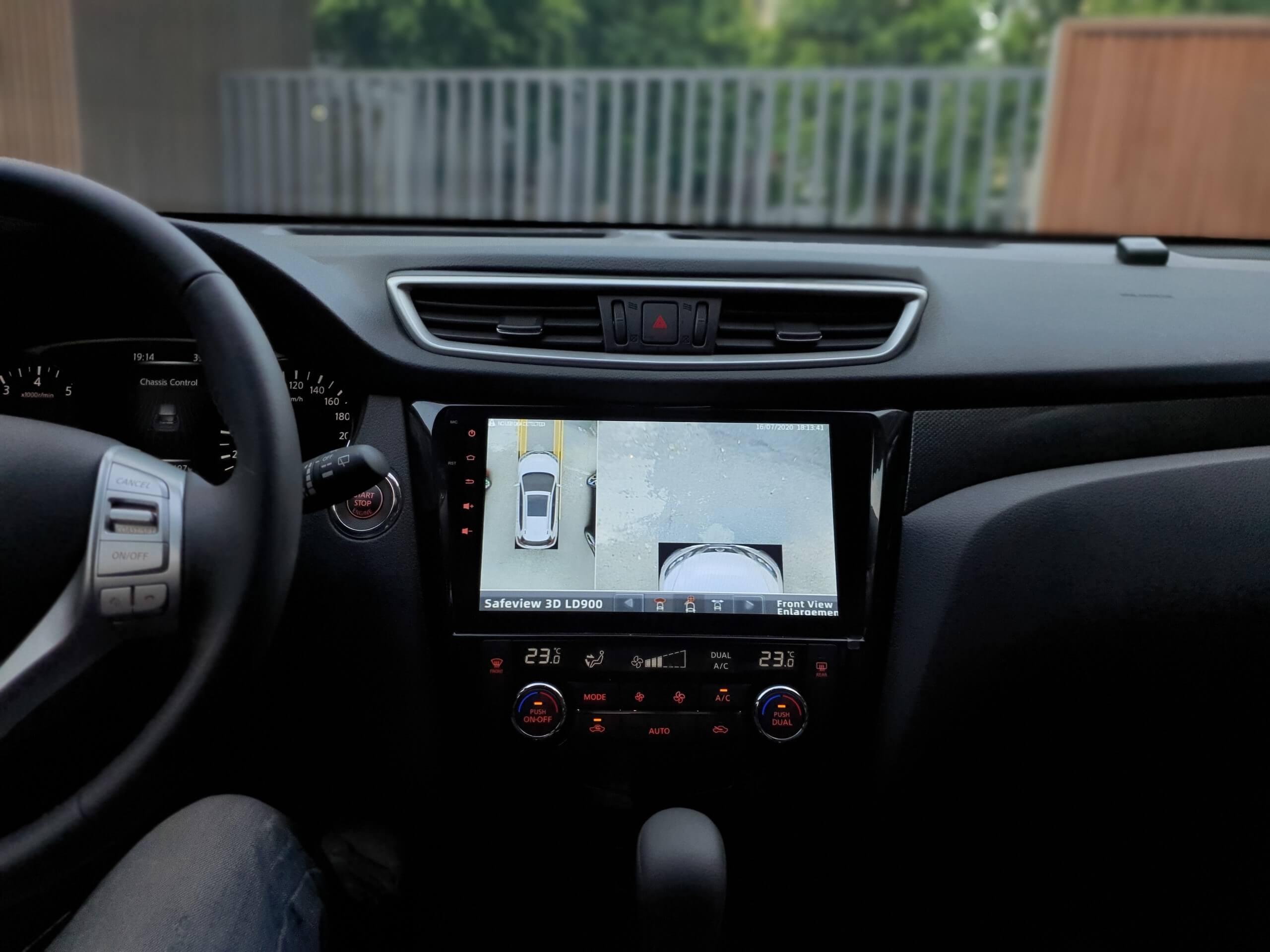 Camera 360 safeview ô tô